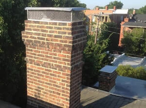 brick chimney repair