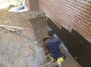 Louisa County foundation repair and waterproofing