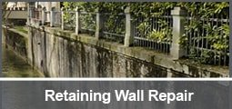 retaining wall tiebacks