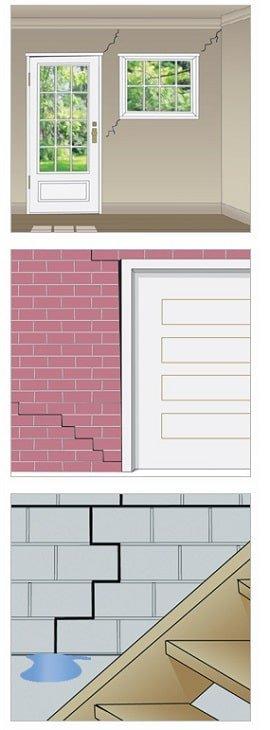 cracked brick virginia