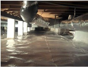crawl space repair, Virginia