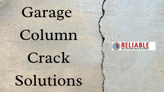 garage column crack solutions