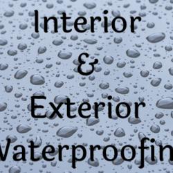 interior waterproofing, exterior waterproofing