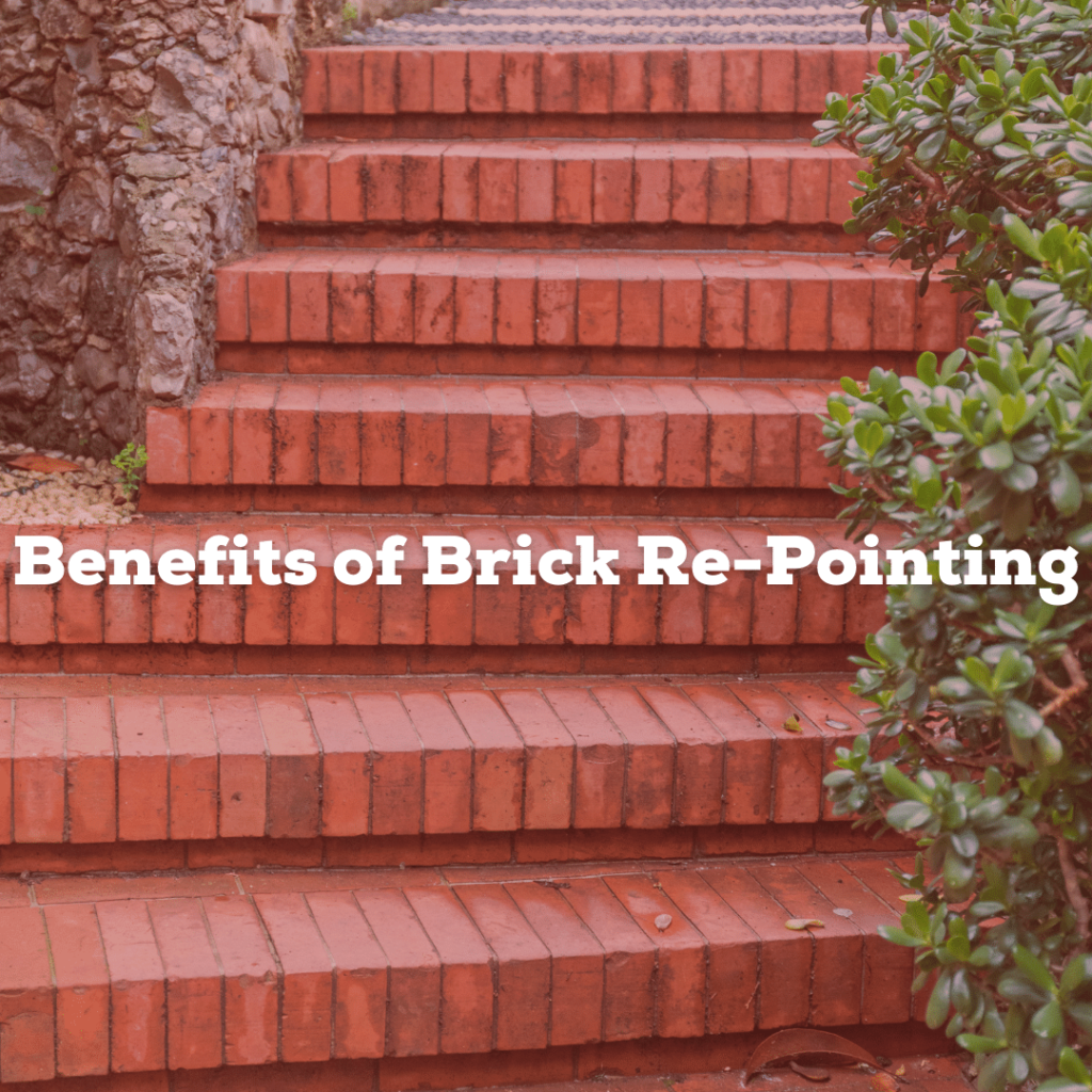 benefits of brick re-pointing