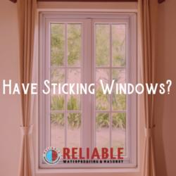 sticking windows. white window with curtains.